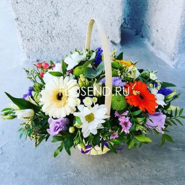 Цветы в коробке № 242